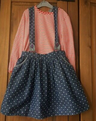 Girls 2 Piece Outfit Dress Top Age 5-6 Years George