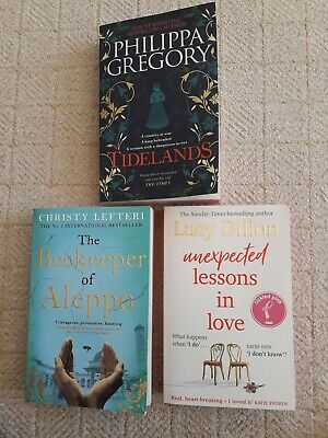 3 Book bundle 'Tidelands' 'The Beekeeper of Aleppo', 'Unexpected Lessons in Love