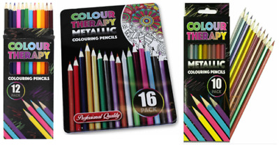 New Artists Colouring Pencils Professional Quality Colour Therapy