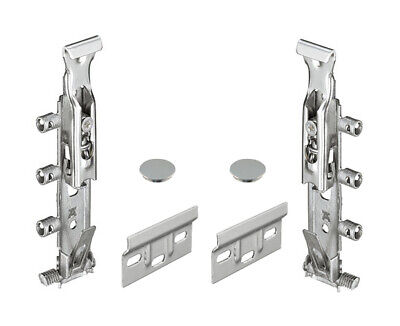 Traser 6 Concealed Cabinet Hanger Set | Rapid Fitting | Cover Caps & Wall Plates