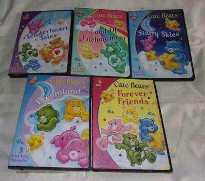 HUGE set of 13 Care Bears DVDs