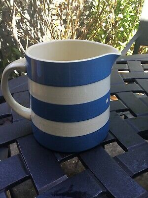 TG Green Cornishware Jug 5.5inches X 4 Inches