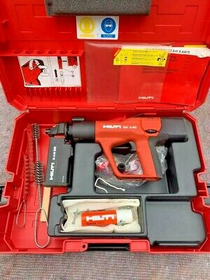 Hilti DX A40 Powder Actuated Gun with X-AM32 Cartridge Case Immaculate Condition