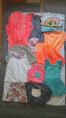 Girls Summer Clothes Bundle Aged 6-7 Years 7-8 Years