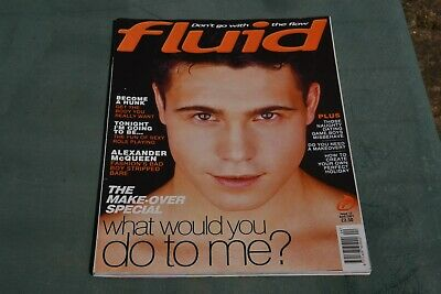 Fluid Magazine 2001  Issue 12 Gay Interest 146 Pages Body Toning Issue. Freepost