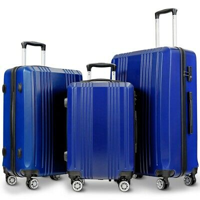 3PC Luggage Set Travel Suitcase with TSA Lock