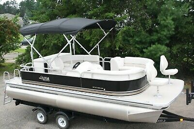 New 21 ft bow Fish with 115 hp and  bunk trailer.
