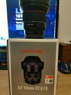 Samyang 8010 AF 14 mm F2.8 Autofocus Lens for Sony FE - Black