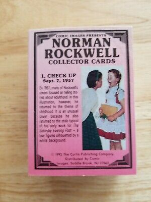 1993 Norman Rockwell COMPLETE Collector Card set 1-90