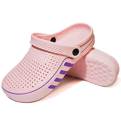 Women Clogs Garden Shoes Antislip Sandals Teenage Girls Summer Shower Slippers