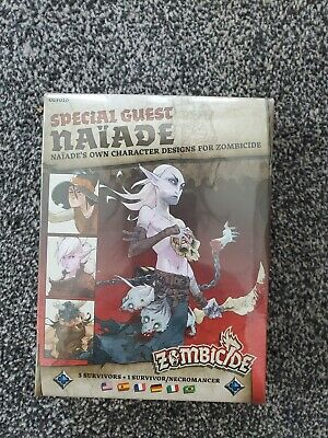 CMON Zombicide Black Plague / Green Horde Special Guest Naiade New & Sealed