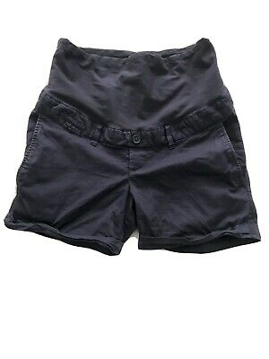 H&M Mama over the bump maternity shorts Navy size 10