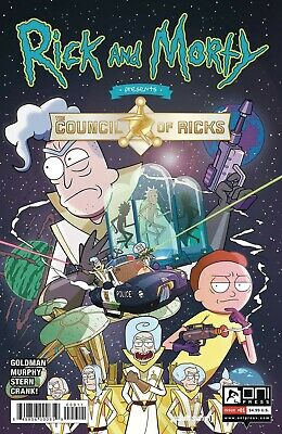 Rick And Morty Presents Council Of Ricks #1