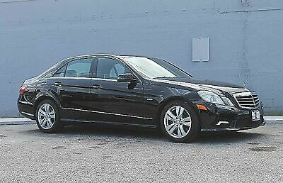 2011 Mercedes-Benz E 350 Sport BlueTEC 1 OWNER CARFAX CERTIFIED 23 SERVICE RECORDS EXTENDED WARRANTY