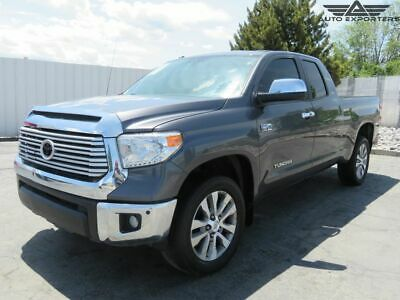 2017 Toyota Tundra Limited 2017 Toyota Tundra 4WD Salvage Damaged Vehicle! Priced To Sell! Wont Last! L@@K!