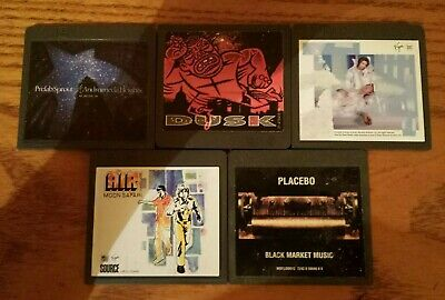 5 x minidisc albums job lot Bowie Placebo Air Prefab The The discs only rare