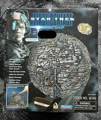 1996 Playmates Star Trek First Contact Borg Ship - Sphere