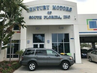 2007 Honda Pilot  4x4 4WD Cloth Seats 3rd Row Seat 6 Disc CD Changer Satellite Radio