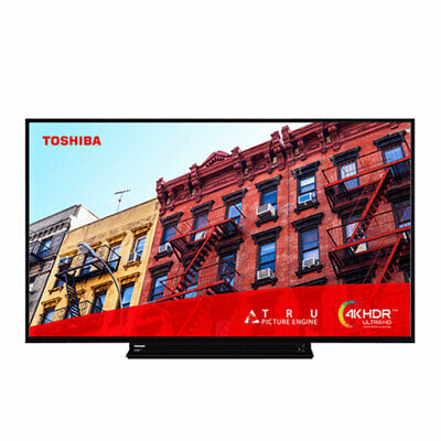 Toshiba 55VL3A63DB 55 Inch Smart 4K Ultra HD LED TV Freeview Play