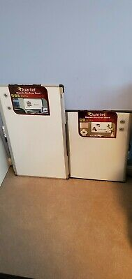 2 Quartet Magnetic White Boards 18x30 & 17x23