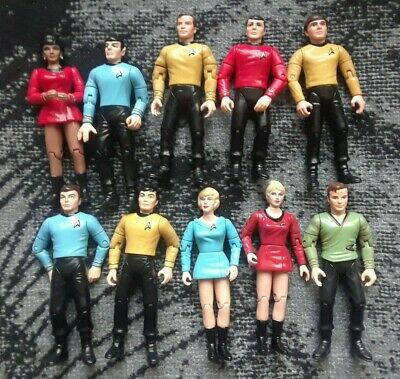 Playmates Star Trek The Original Series Action Figure Lot 1