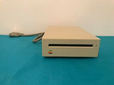 Apple 800k external drive UNTESTED AS IS