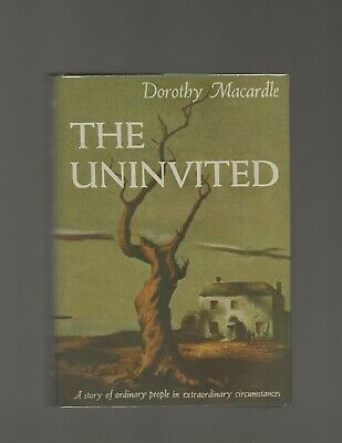 The Uninvited Dorothy Macardle First Edition First Printing Book to Film