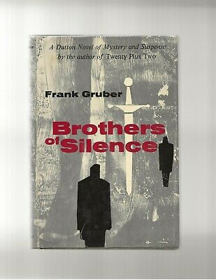Brothers of Silence Frank Gruber SIGNED First Edition First Printing