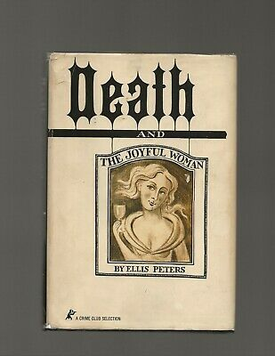 Death and the Joyful Woman Ellis Peters First Edition First Printing Scarce