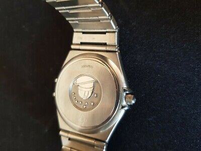 Gents omega constellation Stainless Wrist watch Automatic Auto Mans