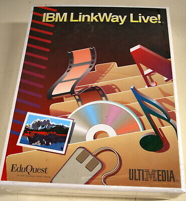 Rare IBM EduQuest LinkWAY Live New in  Package - ships worldwide!