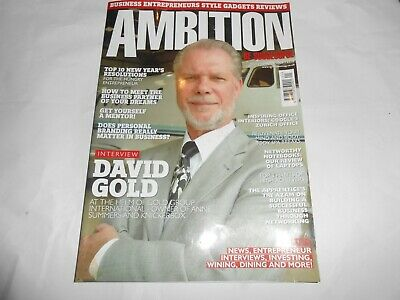 Ambition Be Successful Magazine Issue 2 Jan/Feb 2009 Networking David Gold
