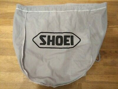 Shoei Grey Drawstring Motorcycle Helmet Bag