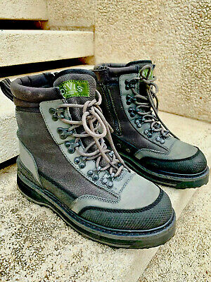 Orvis River Guard Boots SideZip Brogue with EcoTraX Soles
