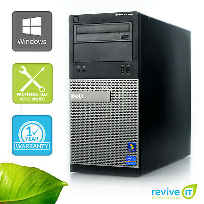 Custom Build Dell Optiplex 390 MT  i5-2400 3.10GHz Desktop Computer PC