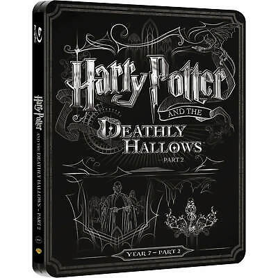 Brand New Sealed Harry Potter7 Steelbook Exclusive BluRay