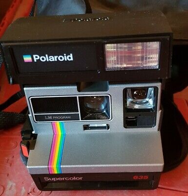 Polaroid Supercolor 635 Camera With Carry Case