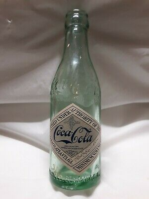 Denmark SC coca Cola Bottle With Label