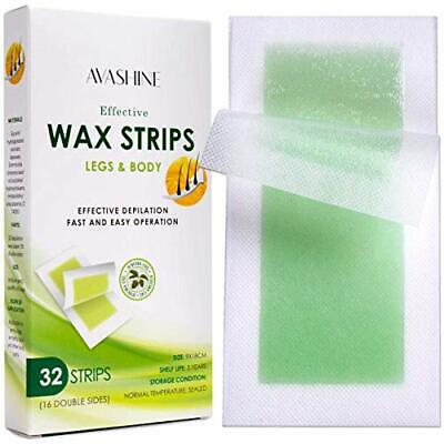 Avashine Wax Strips for Arms, Legs, Underarm Hair, Eyebrow, Bikini, and