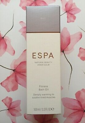 ESPA - Natural Beauty Inner Calm,  Fitness Bath Oil - 100ml.