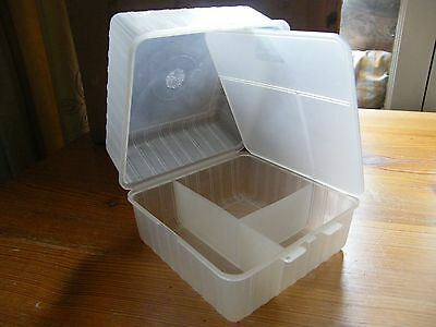 Vintage plastic bento lunch box