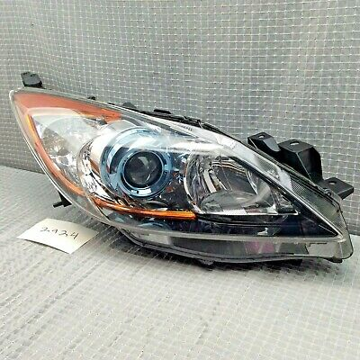 2010 2011 2012 2013 Mazda 3 Halogen w/Projector Right OEM Headlight