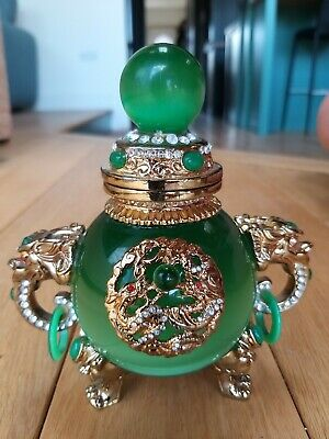 Chinese Gold and Green Decorative Ornament
