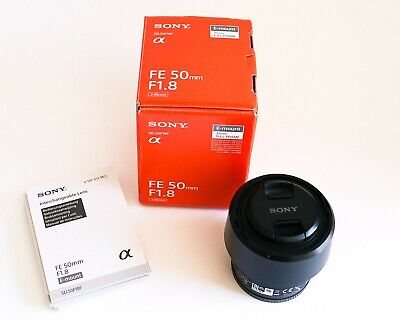 Sony FE 50 mm F/1.8  - Black
