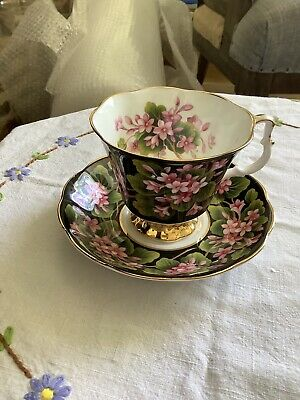 ROYAL ALBERT PROVINCIAL FLOWERS 'MAYFLOWER' Tea cup And Saucer