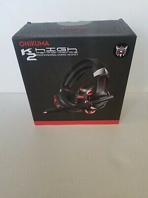 ONIKUMA K2 Pro Stereo Surround Gaming Headset for PS4 New Xbox One PC w/Mic