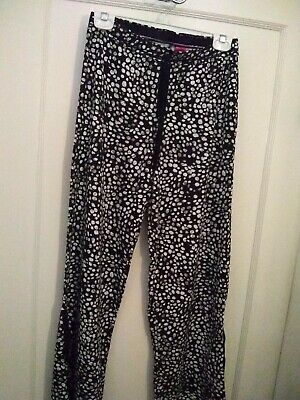Pants Material Girl Sleepwear Black& white Pants S/P NWT New