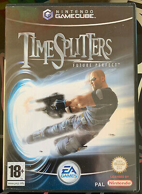 TIME SPLITTERS Future Perfect 1 COMPLET Full PAL FRANCAIS GAMECUBE Nintendo 2005