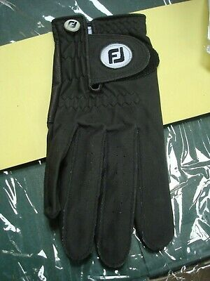 NEW in package- WeatherSof golfing gloves- Mens' Right Medium- Black- FootJoy