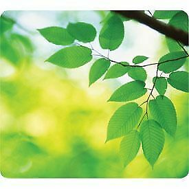 NEW! Fellowes 59038 Earth Series Mouse Pad Leaves 6 pack